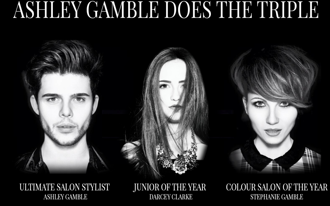Ashley Gamble Does The Triple